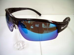 ナイキスポーツサングラス NEXレンズ 度付偏光、ミラー付スポーツサングラス