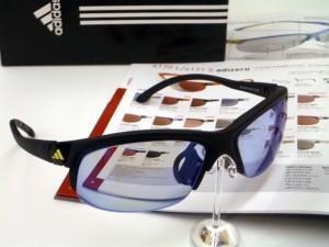 アディダスサングラスa164.165.170.171 度付スポーツサングラス 軽いサングラス