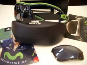 アディダススポーツサングラス 自転車用 大きめサングラス