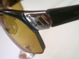 アディダススポーツサングラス 度入りスポーツサングラス ゴルフ用度入りサングラス
