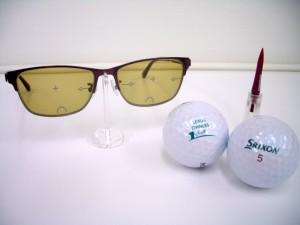 ゴルフ用レンズ For Golf   遠近両用メガネ