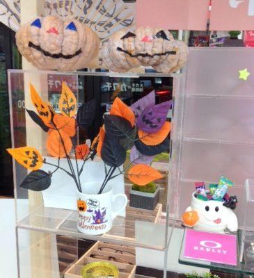 ハロウィン かぼちゃ 魔女 子ども用メガネ