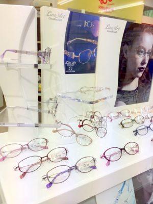 シャルマン ラインアート 女性用人気メガネ 日本製メガネ