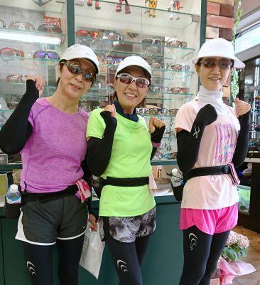 大人女子 ランニング用スポーツサングラス 軽いスポーツサングラス オシャレなスポーツサングラス