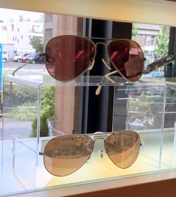 レイバン展 レイバンサングラス レイバンメガネ 流行メガネ 流行サングラス