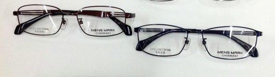 シャルマンラインアート 男性用メガネ 掛け心地の良いメガネ