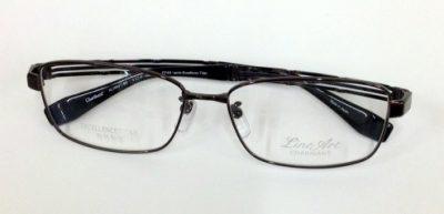 シャルマンラインアート 男性用 軽くて掛け心地良いメガネ