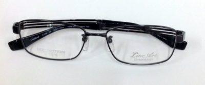 シャルマンラインアート 男性用メガネ 軽くて掛け心地の良いメガネ