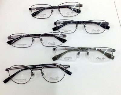ラインアート 男性用メガネ 軽くて掛けやすいメガネ