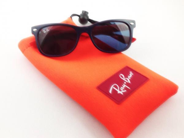 RayBan(レイバン)9052S ジュニア用サングラス ブルーオレンジ[詳細画像4