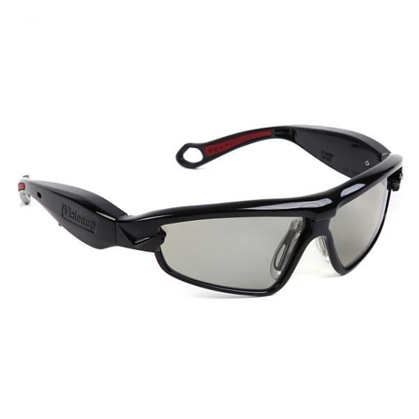 【ジュニア向け】動体視力トレーニングメガネ「VisionUp」 メタリック・ブラック