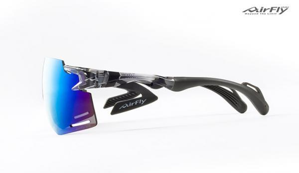 鼻パッドのないスポーツサングラス『AirFly-エアフライ-』AF-301BK C34-BK[詳細画像3