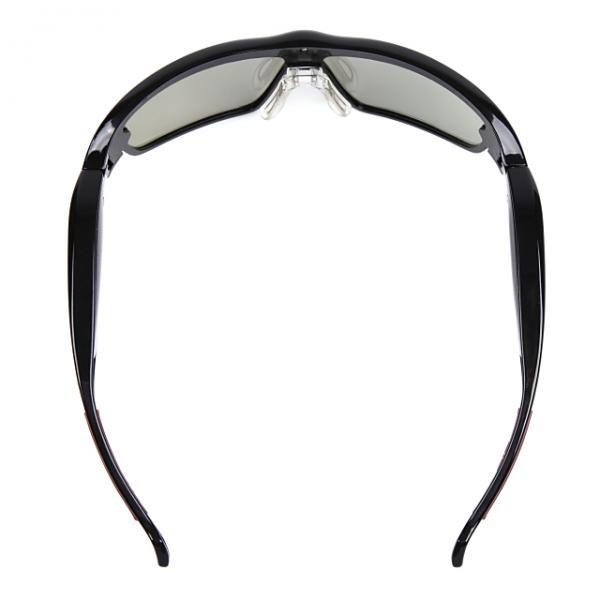 【ジュニア向け】動体視力トレーニングメガネ「VisionUp」 メタリック・ブラック[詳細画像5