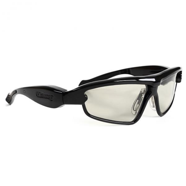 【大人向け】動体視力トレーニングメガネ Visionup カーボンブラック[詳細画像4
